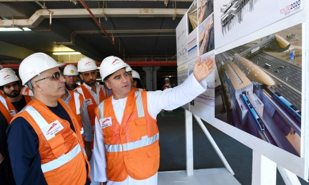 In Pictures: RTA issues update on Dubai Metro Route 2020