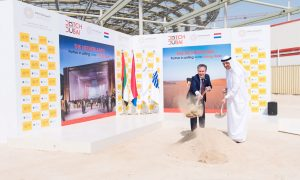 Netherlands begins construction of Expo 2020 pavilion